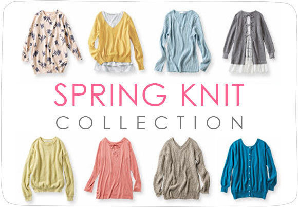 SPRING KNIT COLLECTION