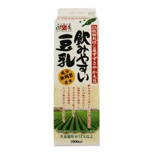 天然甜味 国産大豆豆奶 1000ml(秋田縣産)