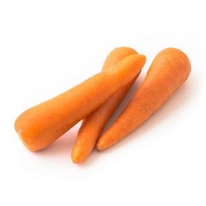 生吃也甜美 紅蘿蔔 2-4條 370g (北海道産)