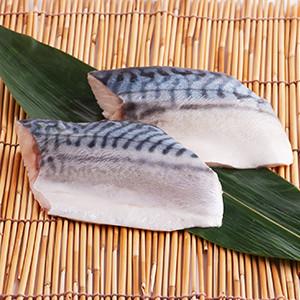 【無骨天然魚】切件挪威鯖魚 2件 160g (愛知縣製)