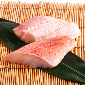Red rockfish fillets (Iceland) 80g×2