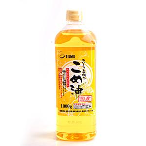 耐高溫煎炸OK 營養豐富米糠油 1kg (和歌山縣製)
