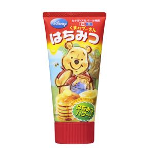 甜蜜不膩方便攜帶 小熊維尼蜜糖 155g (加拿大産)