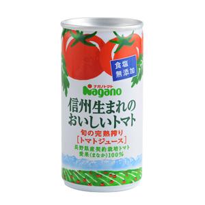 新鮮採摘當季番茄 信州無鹽番茄汁 190g (長野縣製)