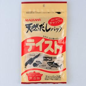 便利和紙包裝 天然魚乾昆布湯包 8包 80g (兵庫縣製)