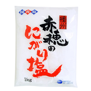含天然鹽滷 赤穂的鹵鹽 1kg (兵庫縣製)