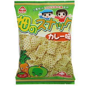 不使用化學調味料 蔬菜咖喱脆脆 55g (愛知縣製)