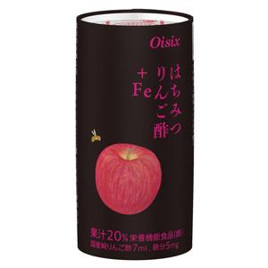 【Oisix出品】香甜味道!清腸胃!蜂蜜蘋果醋 125ml (千葉縣製)