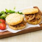 3種蔬菜 金平米漢堡 2個 (栃木縣産)