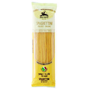 Alce Nero Spaghettini 有機意大利幼麵 500g (意大利産)