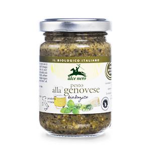 Alce Nero Genovese 有機羅勒香草醬 130g (意大利製)