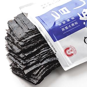 【大人氣】麻油味 超脆日本紫菜 48塊(兵庫縣産)