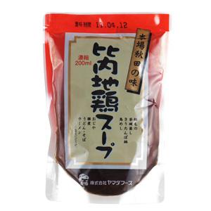 鍋物料理一流 無添加比内地雞湯 200ml (秋田縣産)