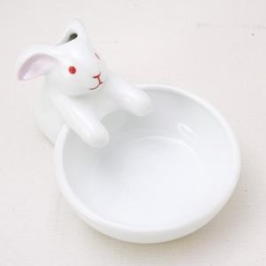卡娃依日本設計 白兔小碟(日本製造)