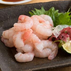 甜味非常突出 可生食甜蝦刺身 80g (鹿兒島縣製)
