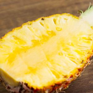 【大size】完熟清甜果汁 初夏蜜菠蘿 1kg (台灣產)