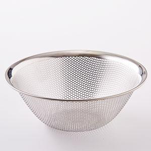 【日本高級廚具系列】柳宗理 不鏽鋼筲箕 19cm(日本産)