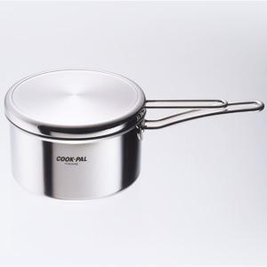 Cookpal Prime 不鏽鋼單手柄鍋18cm (日本製造)