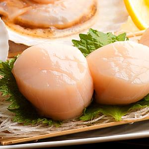 黏著舌頭的鮮甜幸福 帆立貝刺身 4-5粒 120g(2S)(宮城縣製)