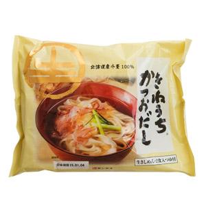 日本著名麺品牌 鰹魚高湯粗扁麵 2份(埼玉縣産)