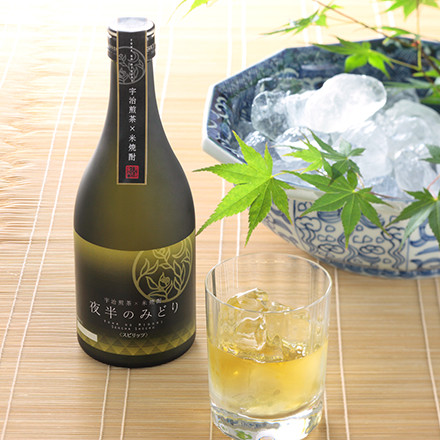 Itohkyuemon  Uji green tea×Shochu 500ml (distilled liquor) Kyoto product