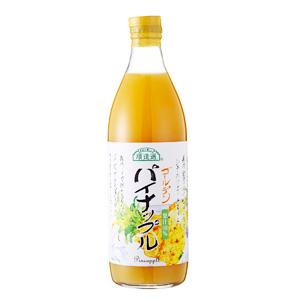 Oisix嚴選飲料 100%黄金菠蘿汁500ml(長野縣産)