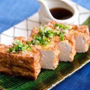 自家製香煎山芋豆腐 附特製和風醬汁 2人前(愛知縣産)