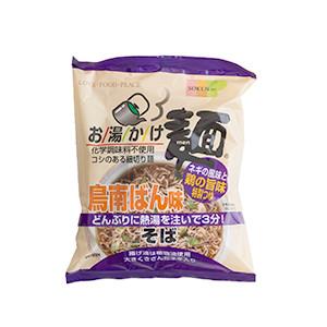 香濃彈牙2分鐘即食 柚子雞湯蕎麥麵 75g (埼玉縣製)
