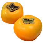 品嚐兩種口感 清甜無籽柿 2個 320g (奈良縣産)