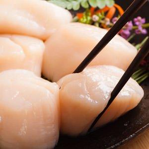 北海道天然帆立貝柱 41-50粒 1kg (北海道産)