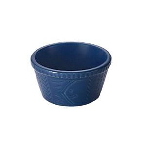 【Vita Craft CCL耐熱陶器系列】藍色圓形陶瓷焗碗 M 180ml (三重縣製)