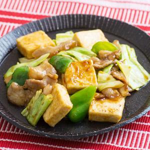 豆腐百珍 甜辣味噌炒鹽豆腐 2件 350g (愛知縣製)