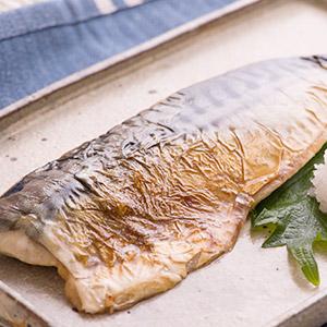 袪骨軟滑魚肉 鹽燒挪威鯖魚 70g (千葉縣製)