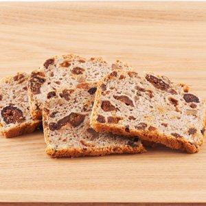星野天然酵母 有機乾果果仁黑麥麵包 4枚 160g (埼玉縣製)