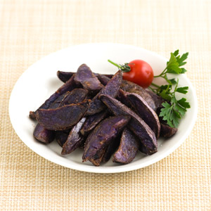 香酥皮脆粉糯 北海道炸紫薯角 200g (北海道製)