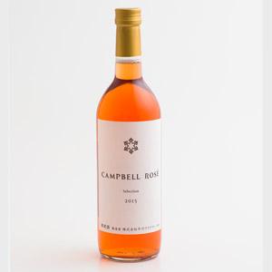 北海道平川酒莊CAMPBELL ROSE玫瑰粉紅酒 720ml (北海道製)
