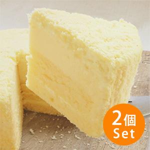 【15%OFF】Oisix自家製 北海道三層芝士蛋糕×2個 (北海道製)【賞味期限8/10】