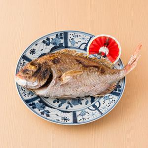 瀬戸内鹽燒天然真鯛魚 1條 約500g (香川縣製)
