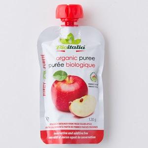 [不含防腐劑]戒奶食也方便!香甜蘋果蓉 120g (意大利產)