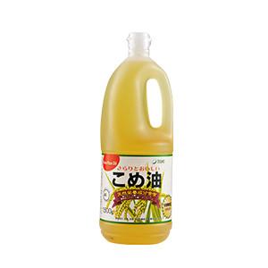 耐高溫煎炸OK 營養豐富米糠油 1.5kg (和歌山縣製)