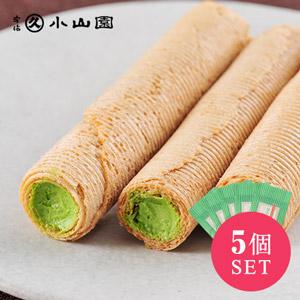 【20%OFF】高貴京都品牌 宇治抹茶忌廉蛋卷組合(5包)