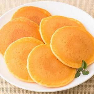簡單材料溫柔味道 紅蘿蔔Pancake 6枚 180g (佐賀縣製)