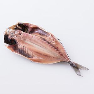 使用低礦物岩鹽 竹莢魚干物 1條 180g (佐賀縣製)