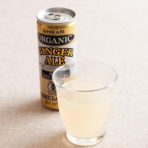 炎夏必備 有機Ginger Ale 薑汁汽水 250ml (廣島縣製)