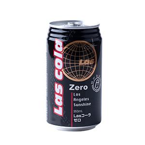 零卡路里健康之作 LAS Cola Zero 350ml (栃木縣製)