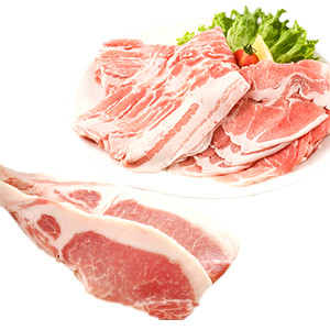 【Summer Sale】薩摩美豚豬脊肉扒&豬脊肉片福袋(鹿兒島縣產)