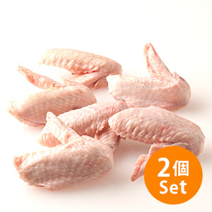 【極級鮮味】沙薑、豉油皇或鹽燒!徳島神山雞雞中翼連尖 280g×2份 (徳島縣産)