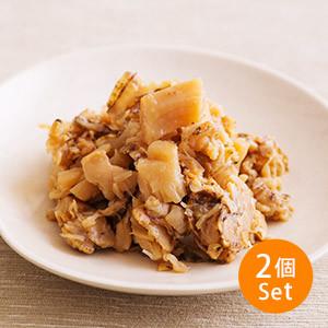 【5%OFF】送飯一流 北海道醬油帆立貝碎 2-3人份 80g×2 (北海道製)