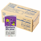 原創自然果汁 Blueberry Mix Juice 125ml×12盒 (長野縣製)