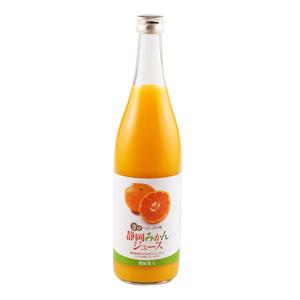 像鮮榨的鮮甜 静岡蜜柑濃郁果汁 720ml (静岡縣製)